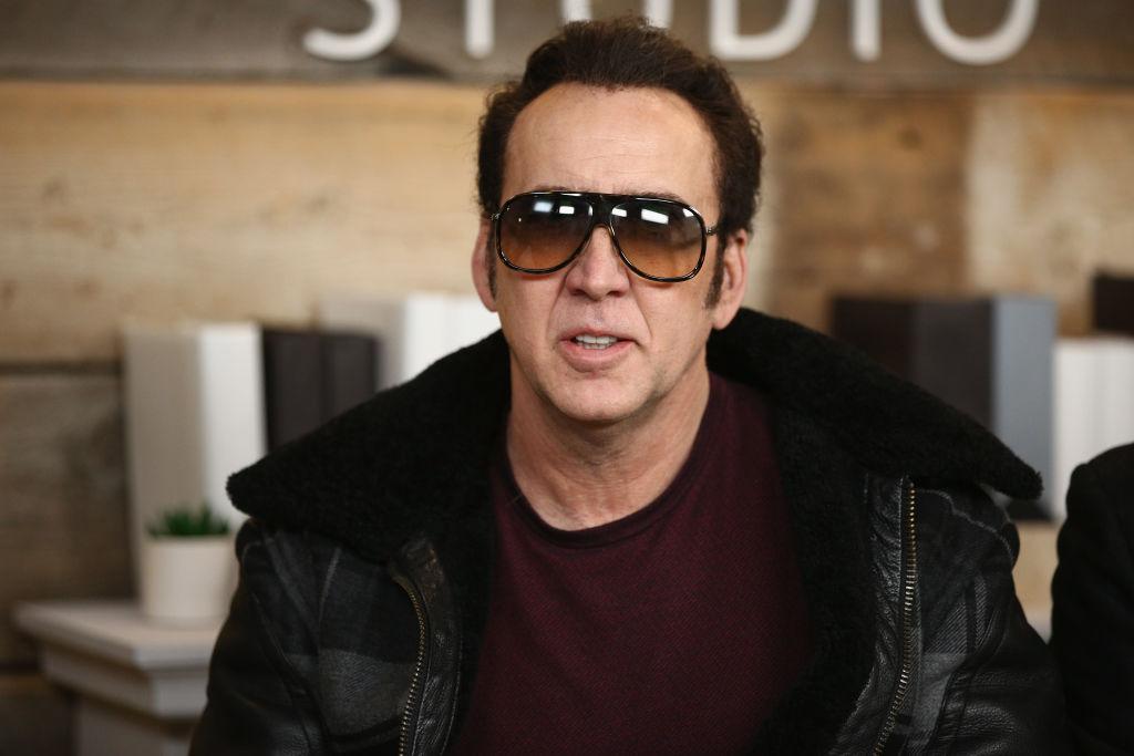 Actor Nicolas Cage