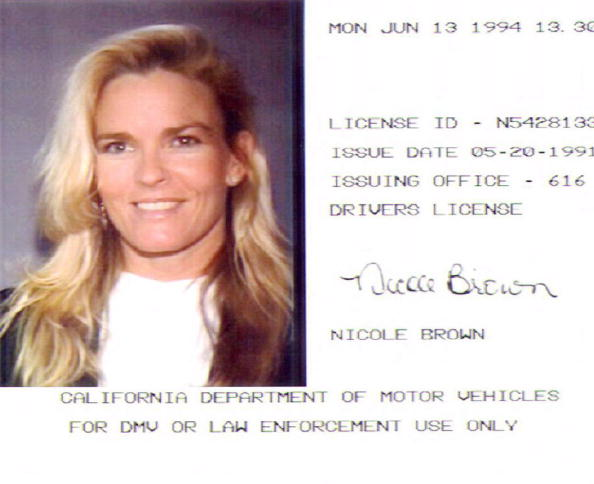 Nicole Brown Simpson, the ex-wife of former professional football player O.J. Simpson