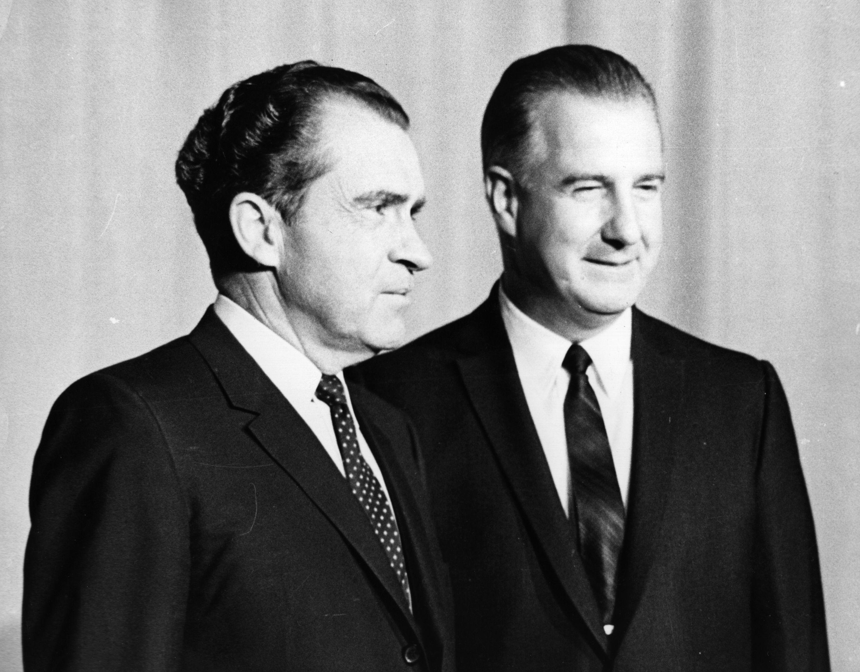 Richard Nixon and Spiro Agnew