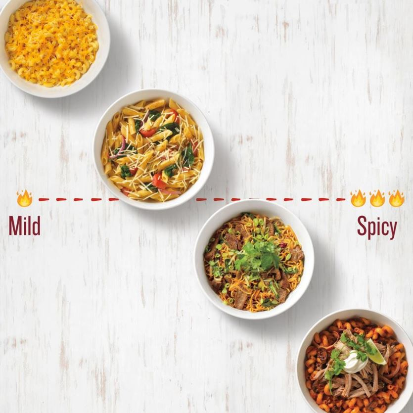 Noodles & Company's four delicious mac and cheeses
