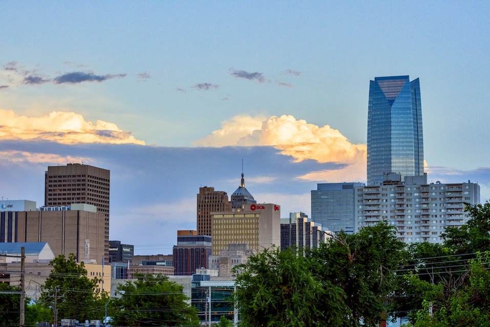 Oklahoma City skyline