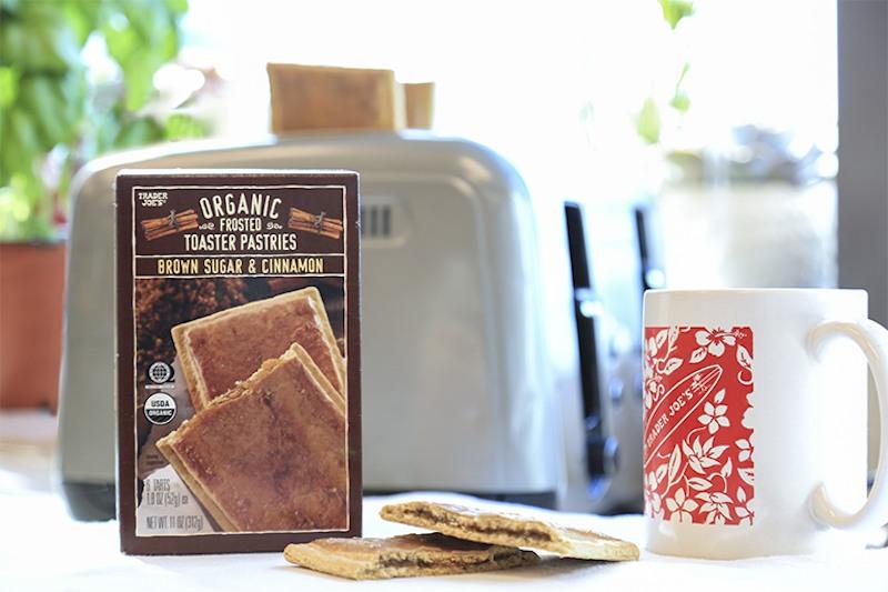 Trader Joe's organic toaster pastries