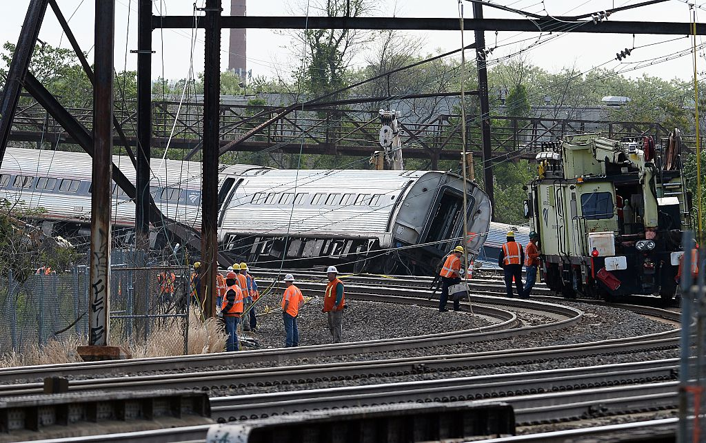 Philadelphia Train crash