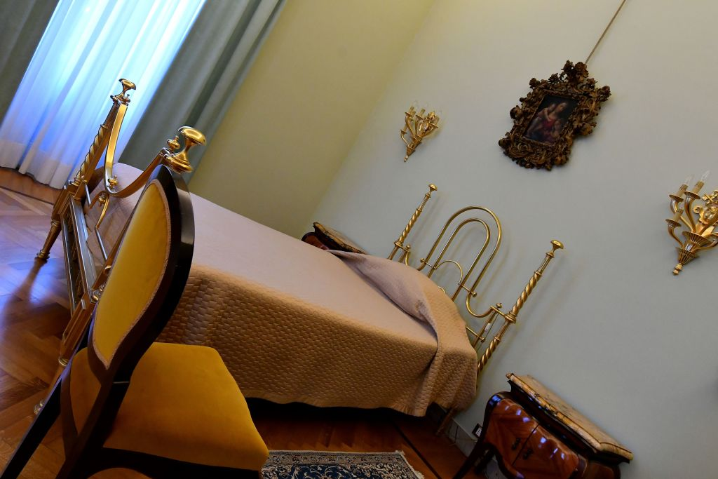 Pope Francis private apartments