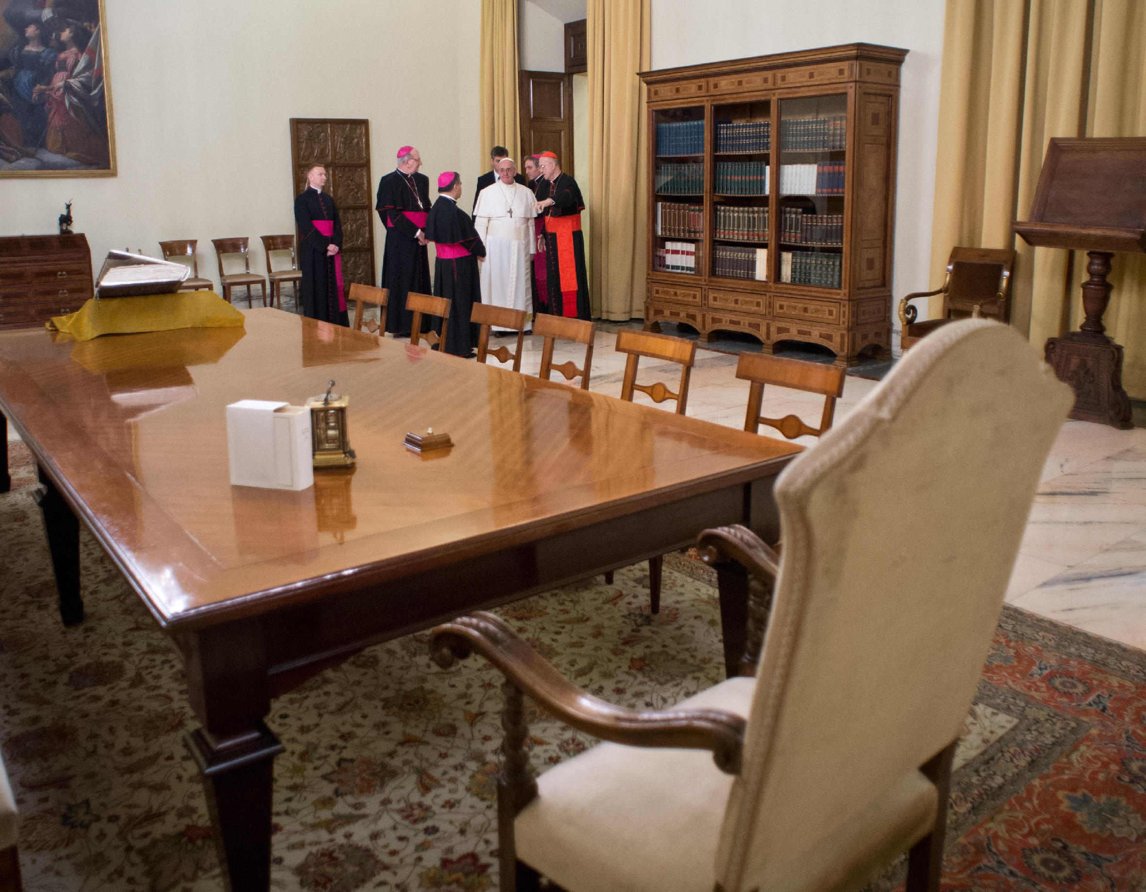 Pope Francis office