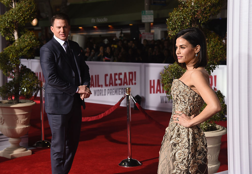 Actor Channing Tatum and actress Jenna Dewan-Tatum attend Universal Pictures' 'Hail, Caesar!' premiere