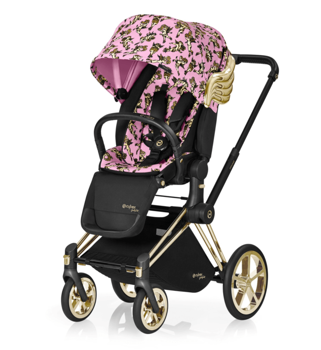 Priam Stroller by Jeremy Scott - Pink