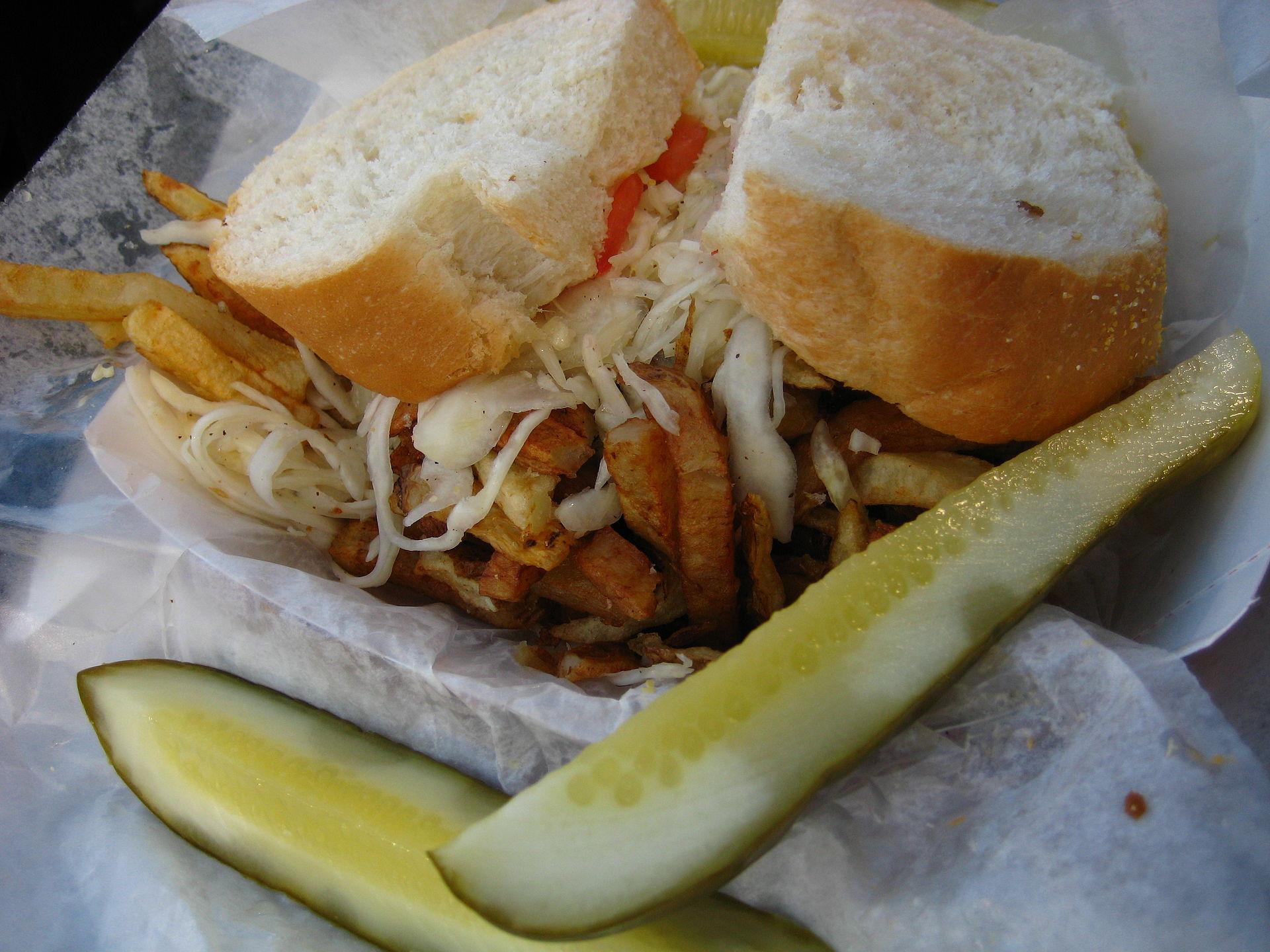 Primanti bros restaurant sandwich
