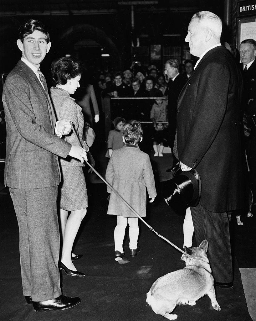 Prince Charles, Princess Margaret And Viscount Linley