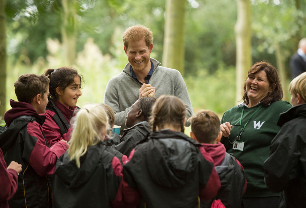 Prince Harry Visits The Wilderness Foundation