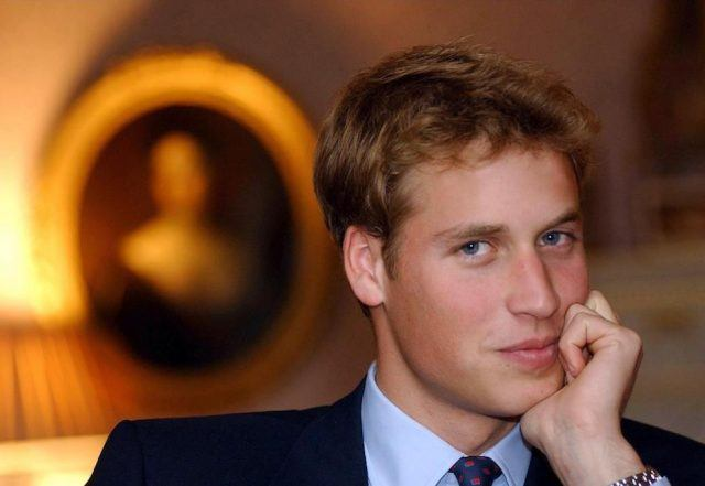Prince William, eldest son of The Prince of Wales