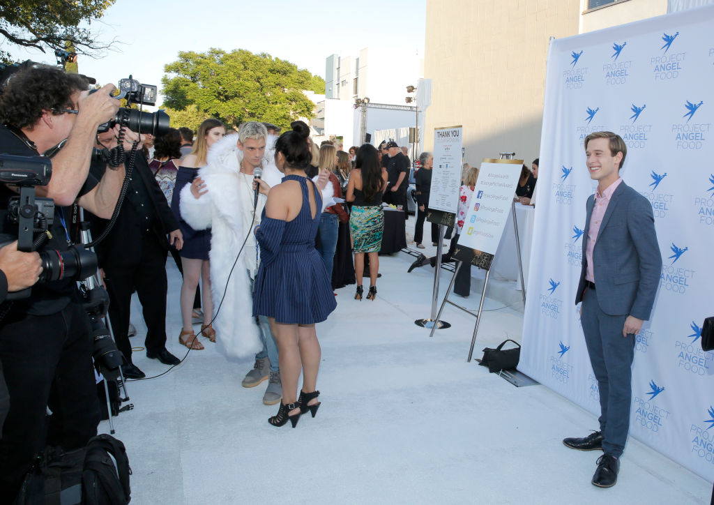 Clairvoyant Tyler Henry attends Project Angel Food's 2017 Angel Awards