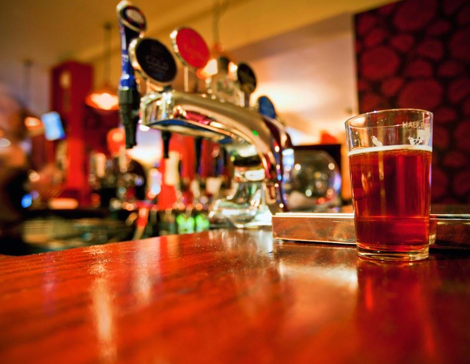 traditional style English pub