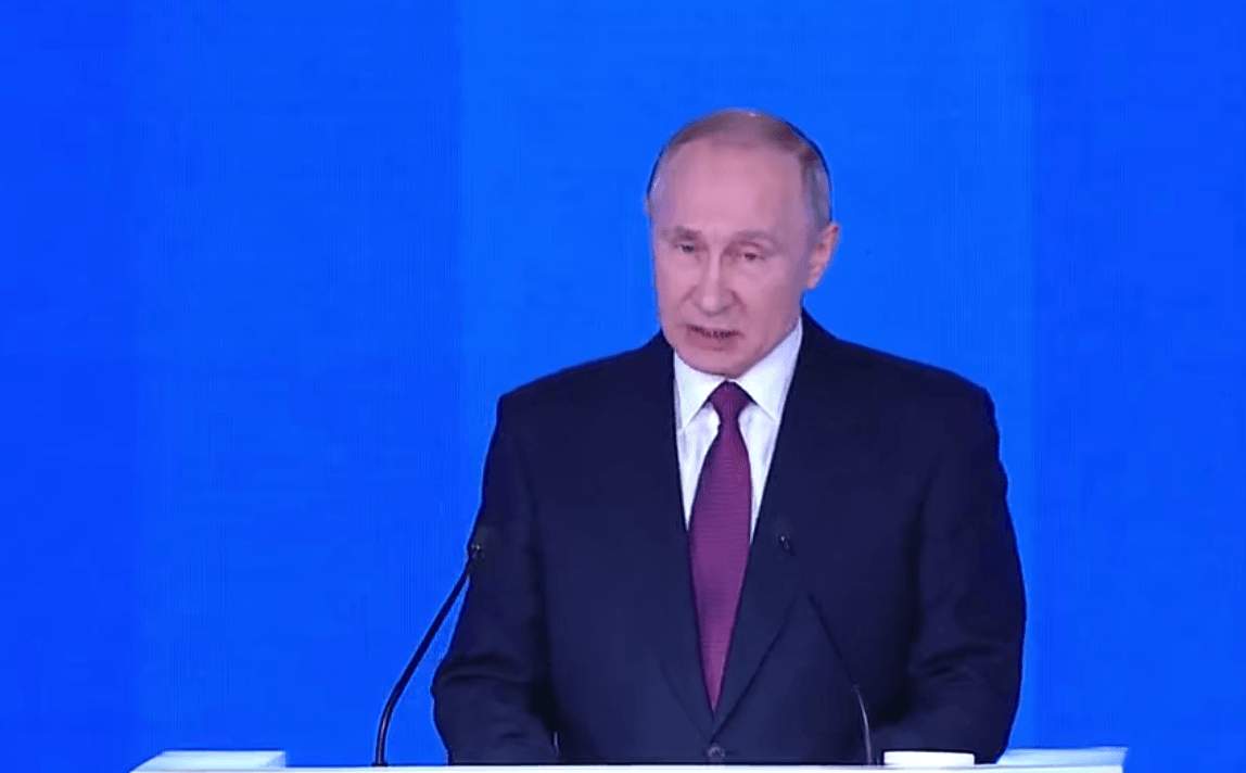 Putin address
