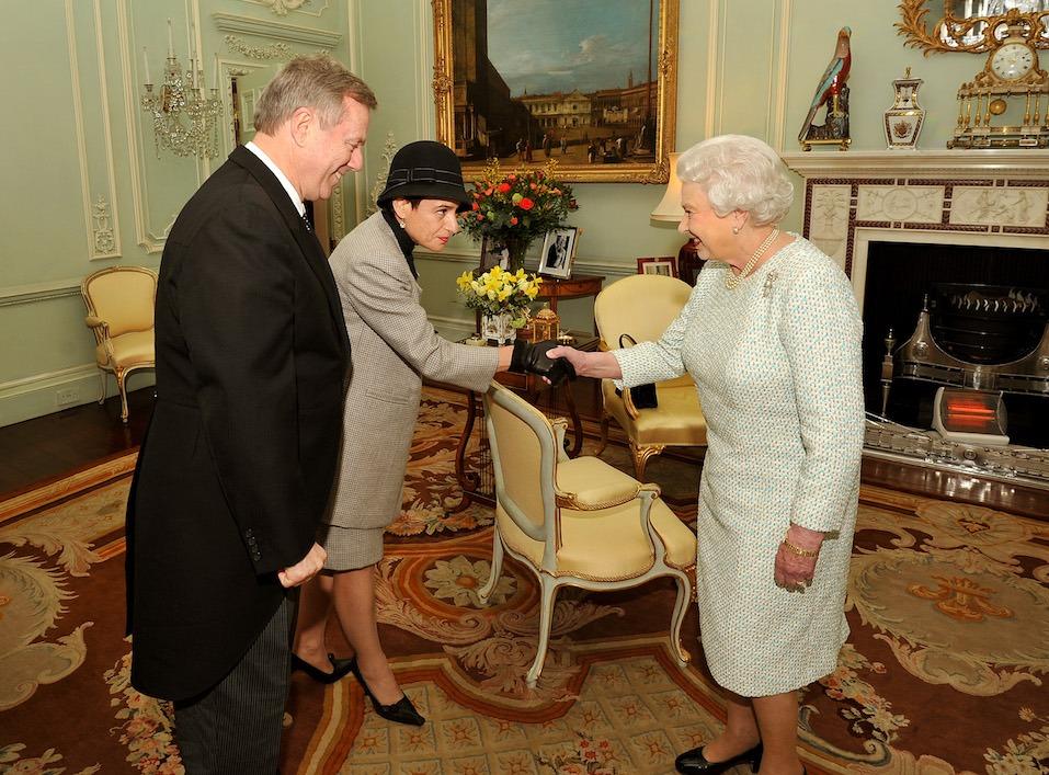 Queen Elizabeth II Hosts Reception With Australian High Commissioner