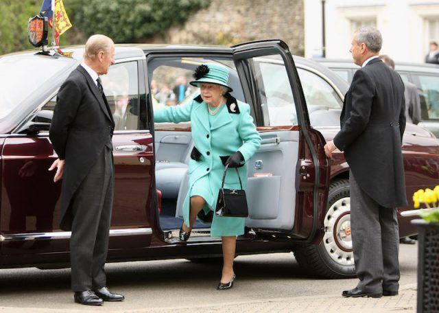 The queen's purse