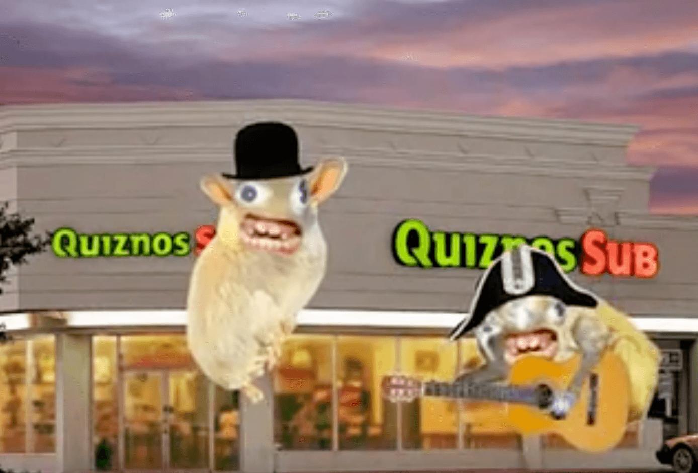 Quiznos Spongmonkeys