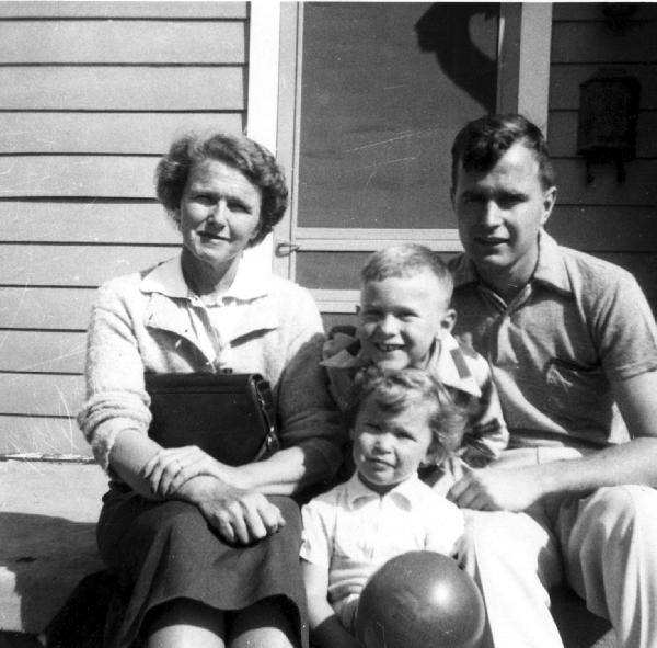 Bush family with Robin Bush