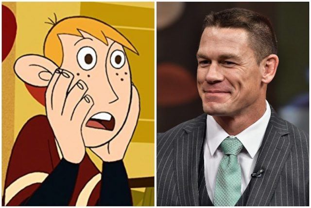 Collage of Ron Stoppable and John Cena.