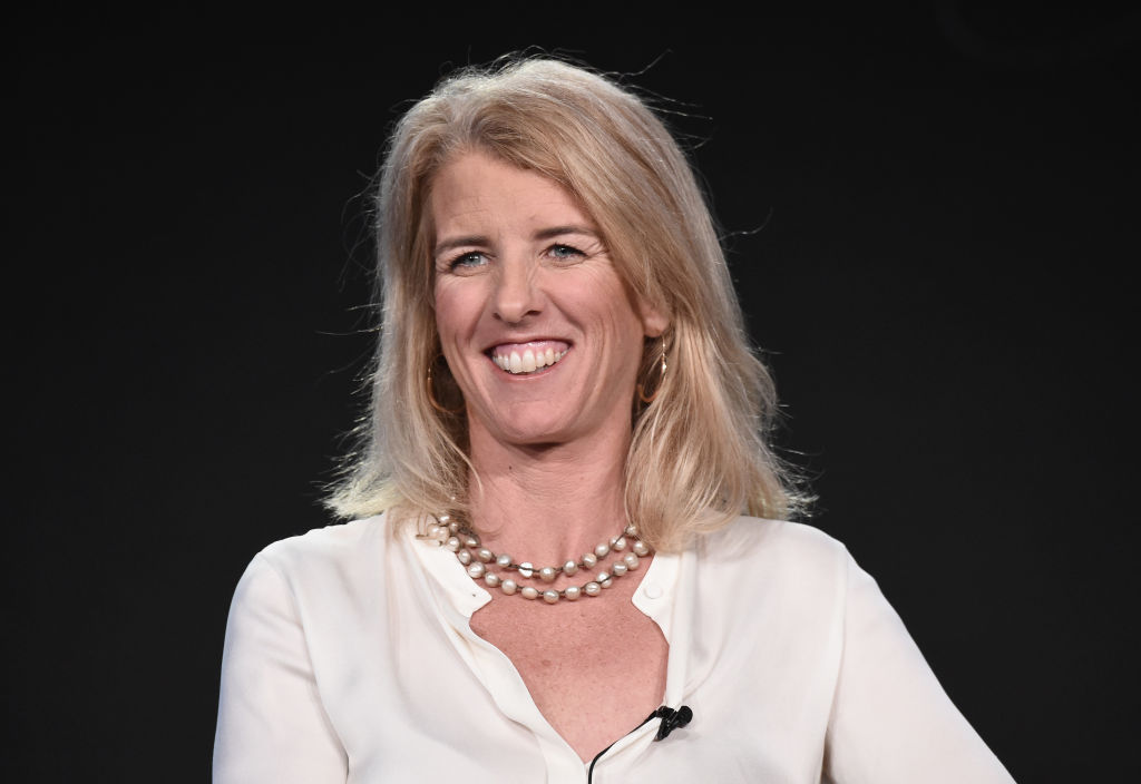 Rory Kennedy, director/producer/narrator from 'Above and Beyond: NASA's Journey to Tomorrow' onstage