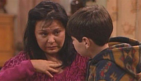 Roseanne and DJ