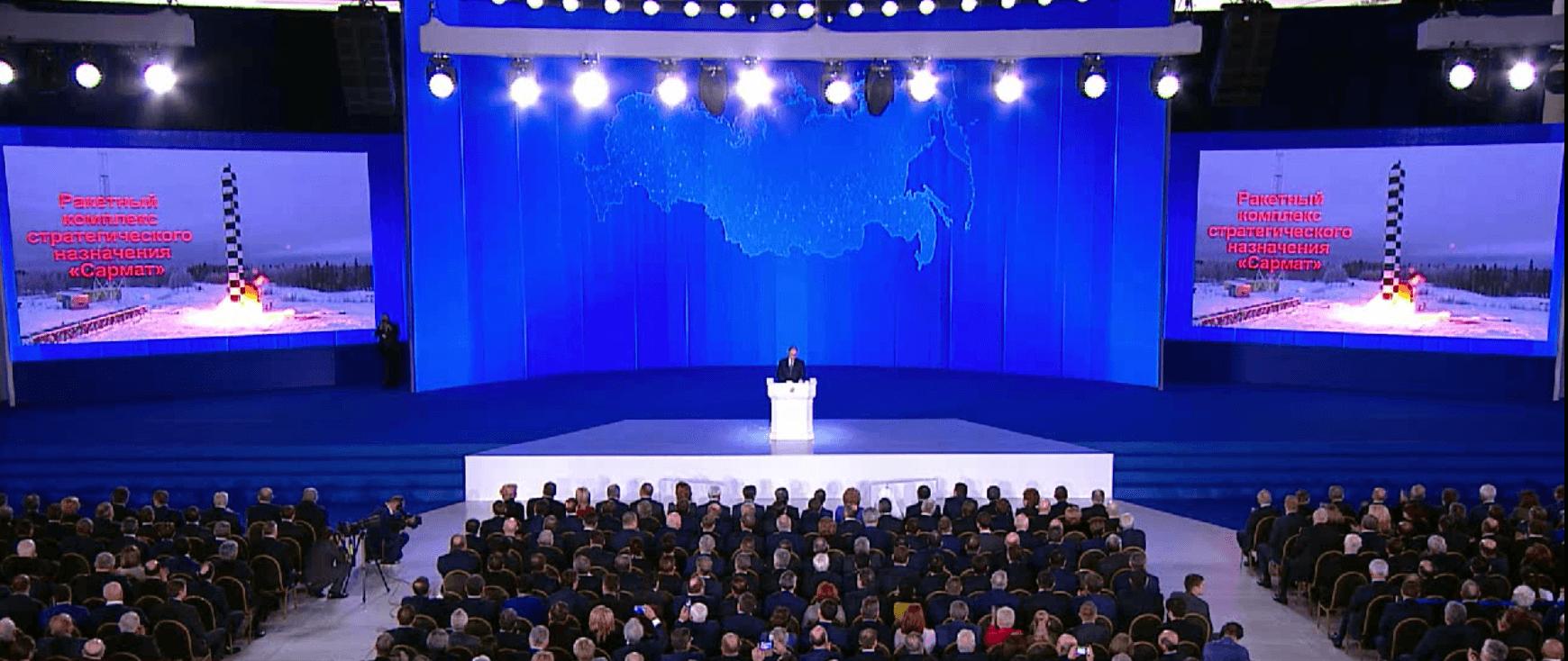 Russia putin address