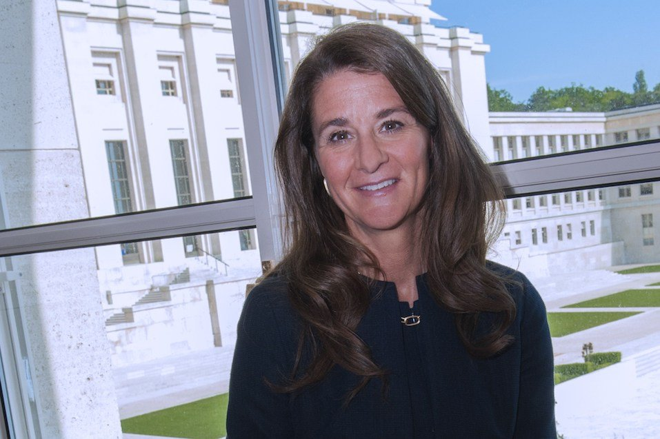 Melinda Gates, co-chair of the Bill & Melinda Gates Foundation