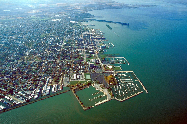 Sandusky, Ohio aerial photo