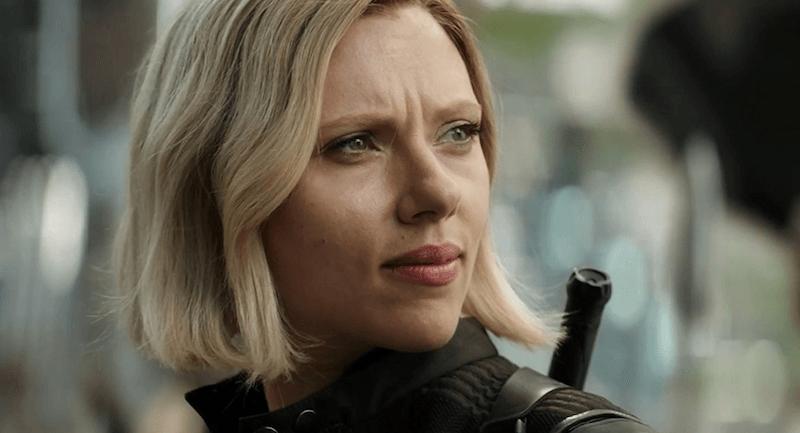 Black Widow in Avengers: Infinity Wars