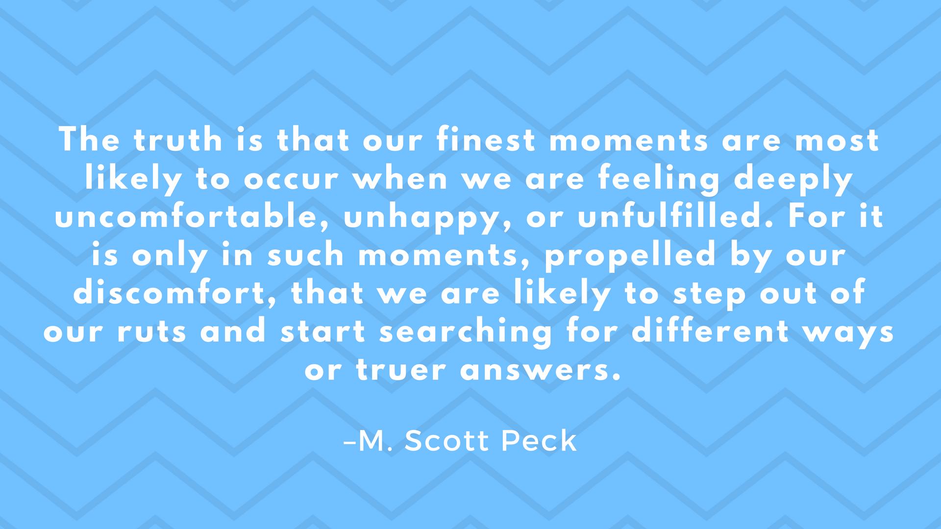 Scott Peck quote