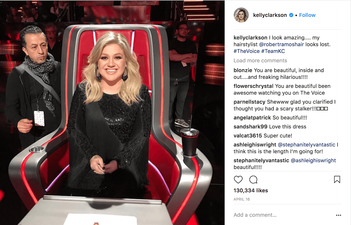Kelly Clarkson shares her secret to weight loss