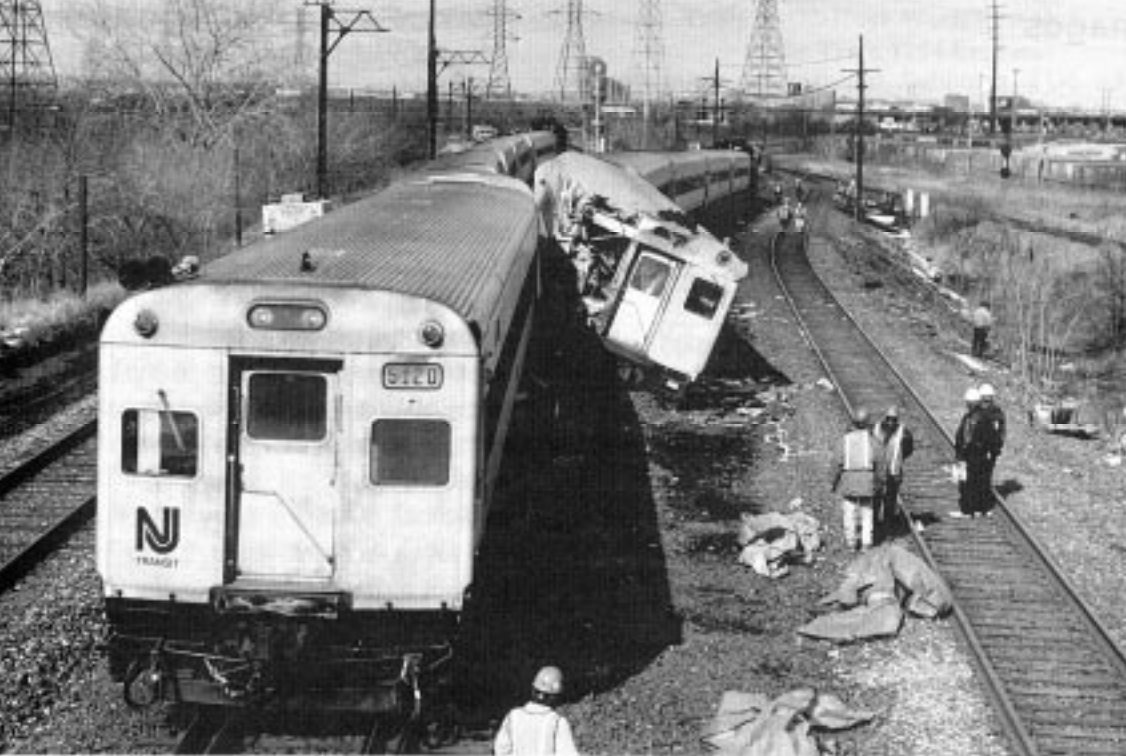 Secaucus NJ train crash