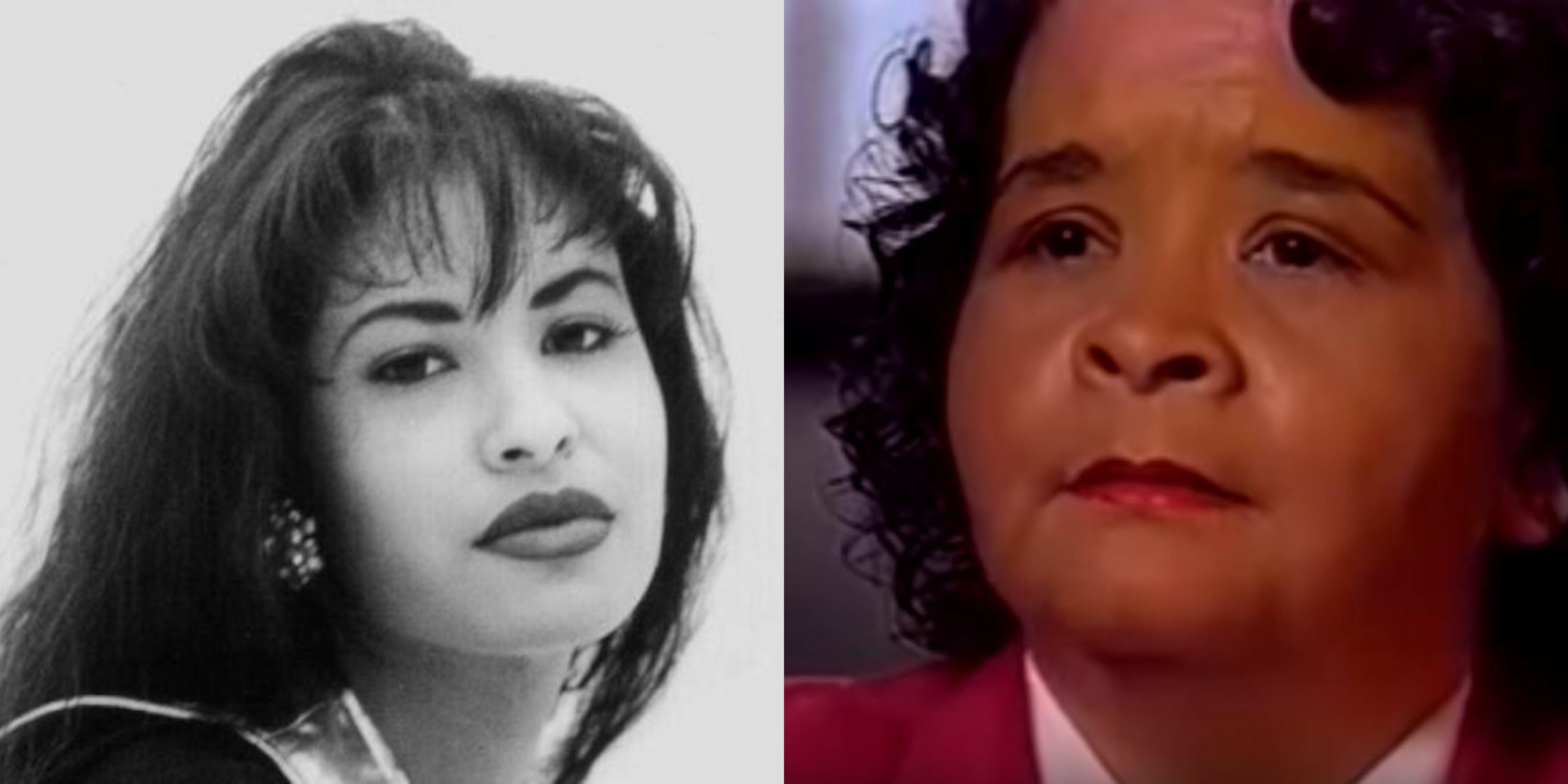 Left: Selena Quintanilla-Pérez, Right: Yolanda Saldívar
