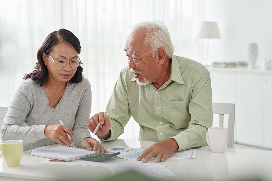 Old couple taxes