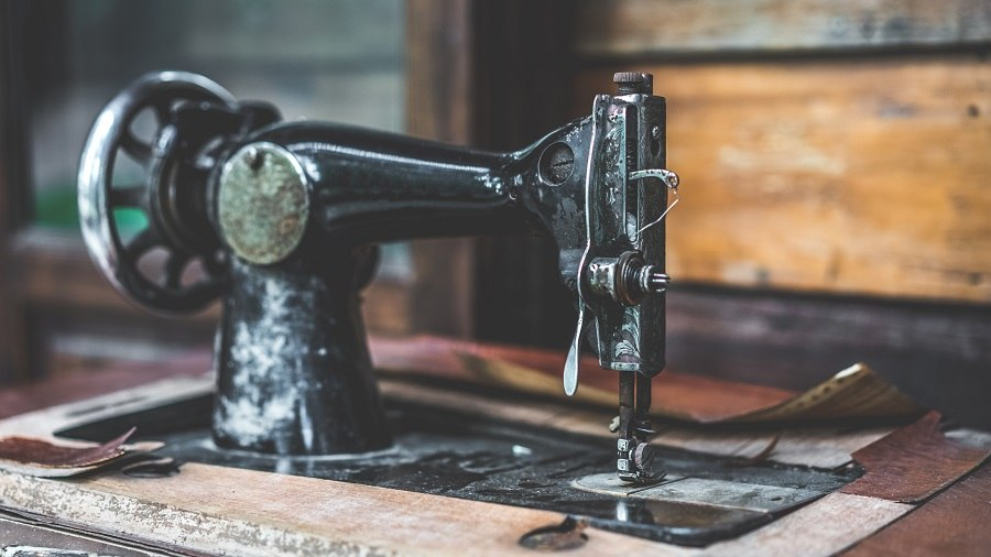 old style Sewing Machine