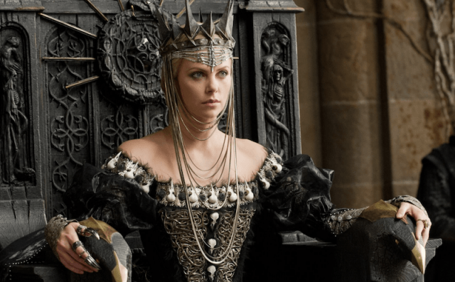 Charlize Theron in 'Snow White and the Huntsman'.