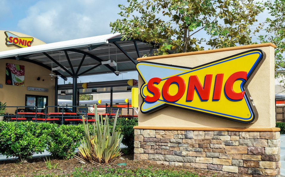 Sonic Drive-In Restaurant exterior