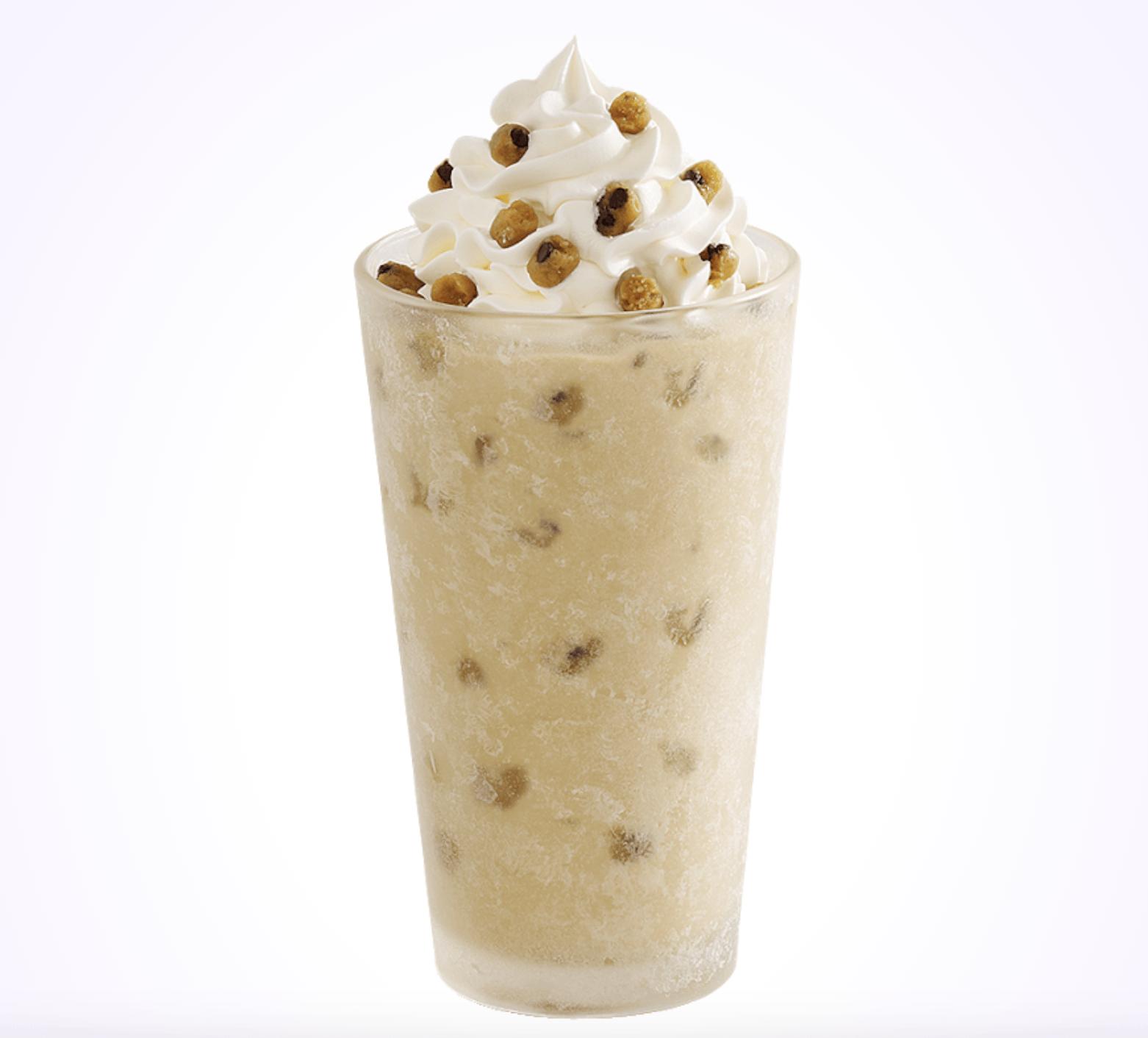 Sonic cookie dough shake