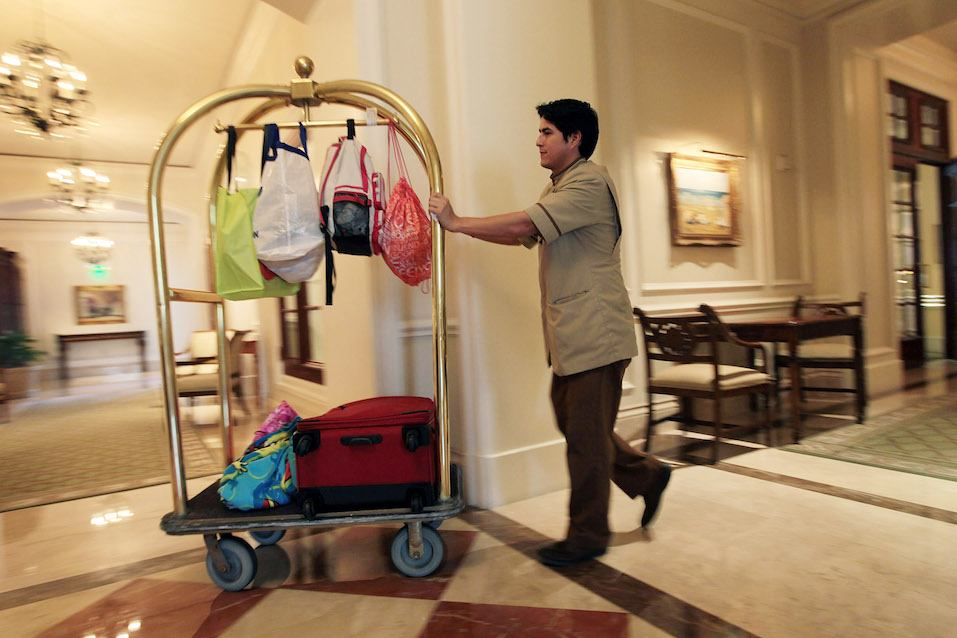 bellman, at the Ritz-Carlton