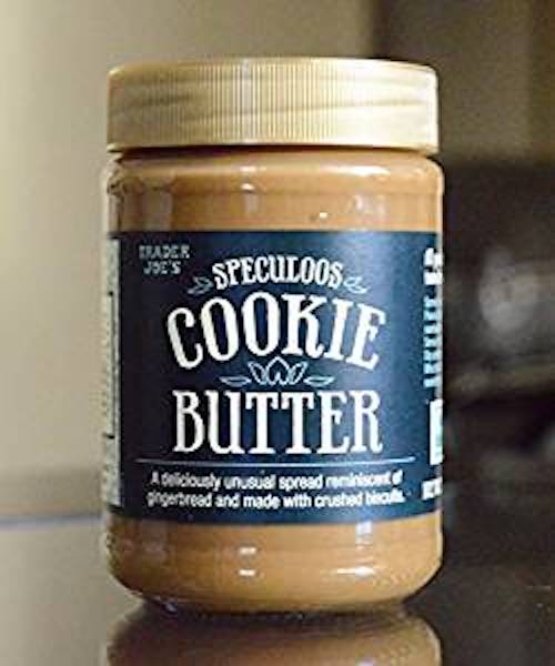Speculoos cookie butter.