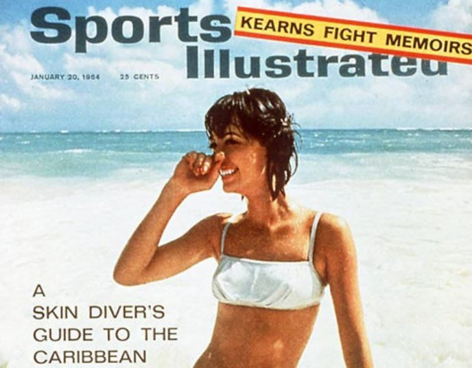 The first Sports Illustrated Swimsuit issue