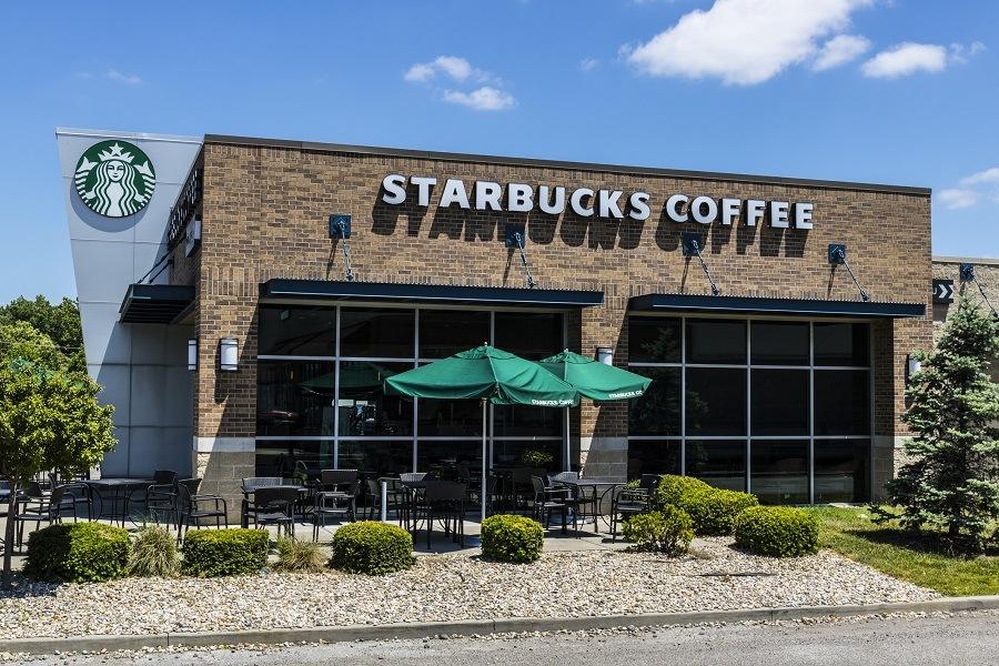 Starbucks Retail Coffee Store.
