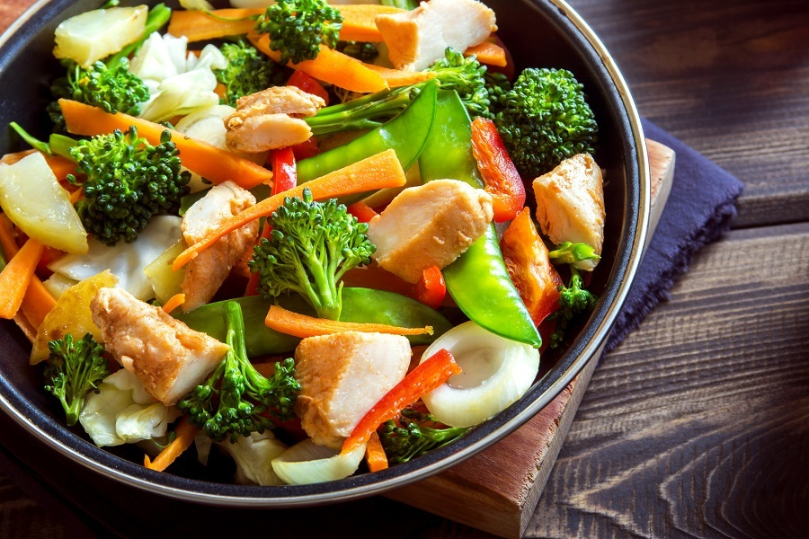 Stirfried vegetables