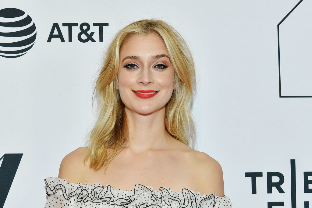 """Caitlin FitzGerald attends the screeing of """"Sweetbitter"""" during the 2018 Tribeca Film Festival"""