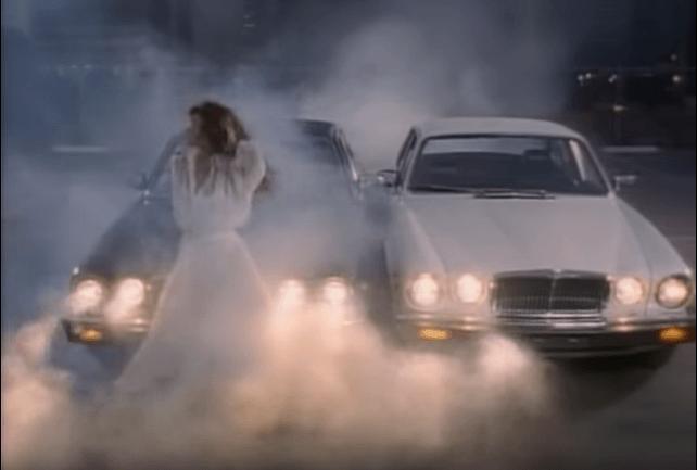 "Tawnie Kataen in the music video for ""Here I Go Again"" by Whitesnake"