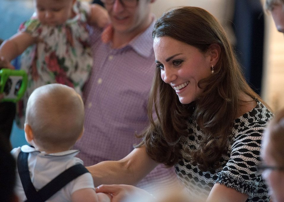 The Duke And Duchess Of Cambridge Tour Australia And New Zealand - Day 3