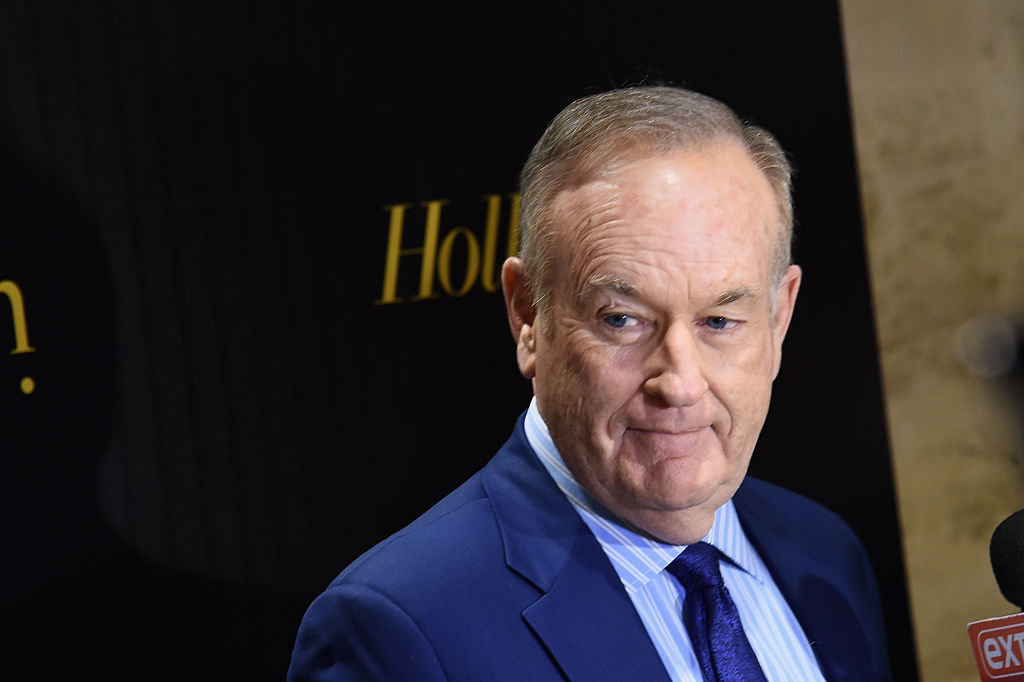Television host Bill O'Reilly attends the Hollywood Reporter's 2016 35 Most Powerful People in Media