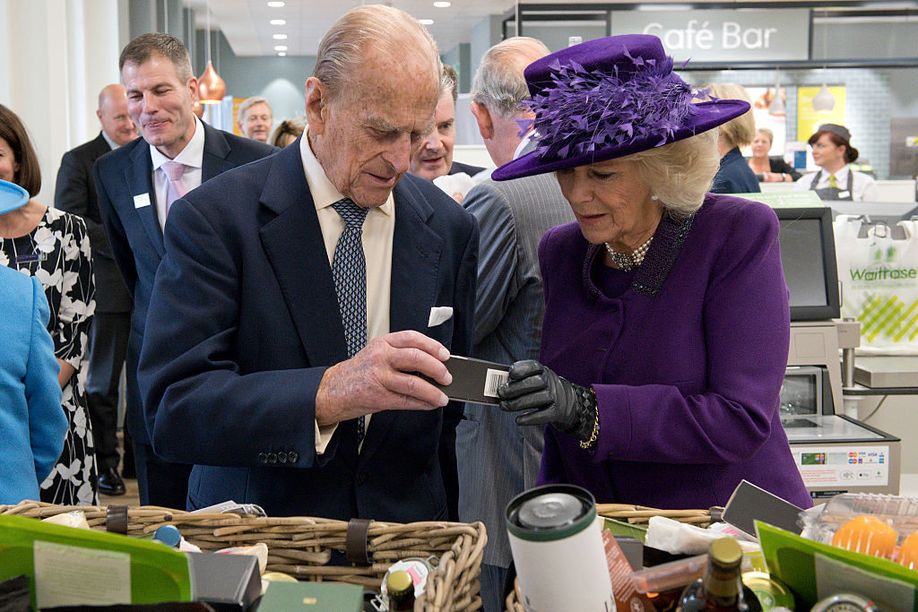 Prince Philip and Camilla Parker Bowles