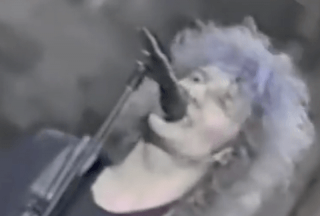 The Replacements singer performing in front of a mic.