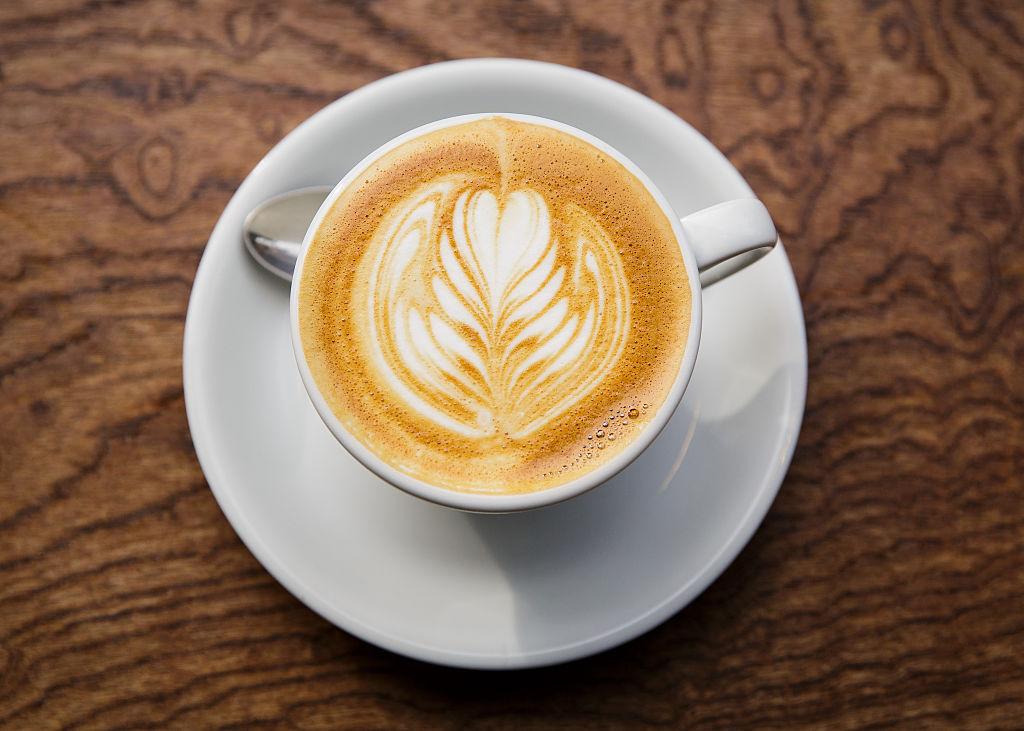 A cafe latte
